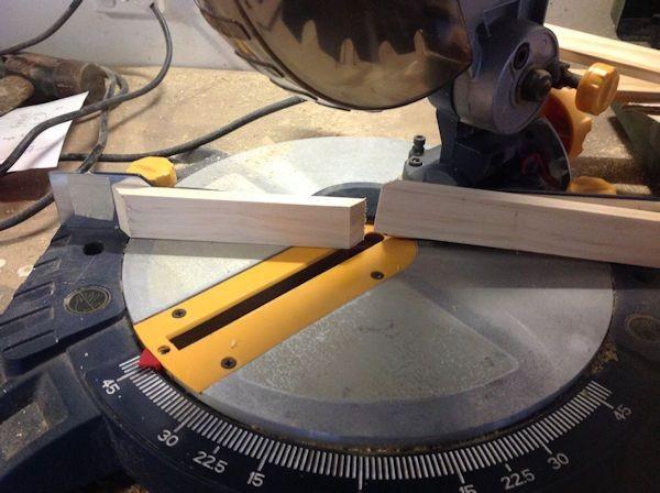 Box Frame mitre saw