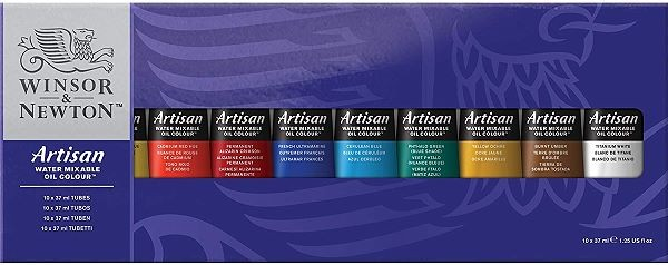 winsor & Newton water soluble oil paint set